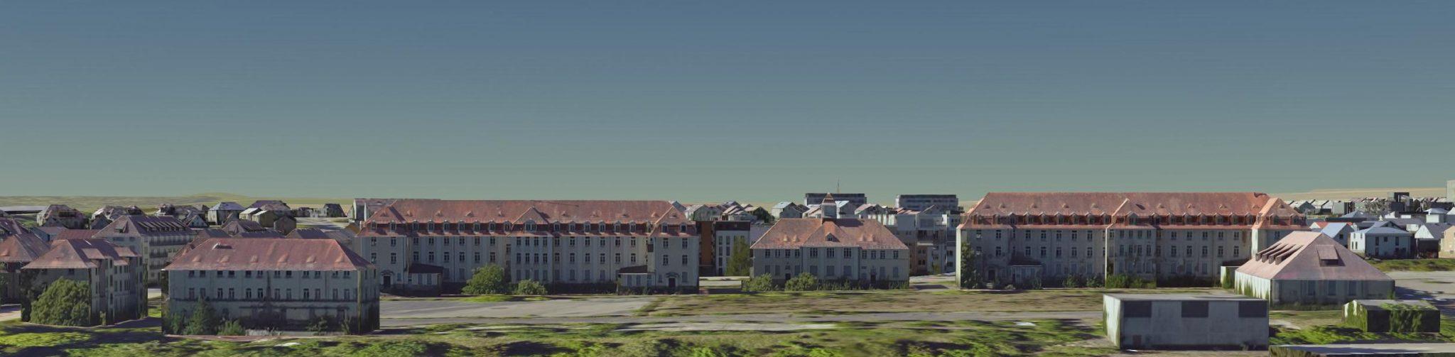 Lyautey- bzw. Richthofen-Kasernen-Gelände