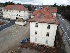Familiengebäude, Lagerhaus, Kammergebäude