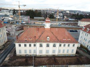 Wirtschaftsgebäude Frontansicht